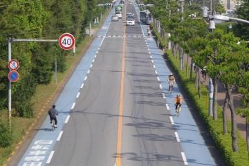 理想的な自転車レーン