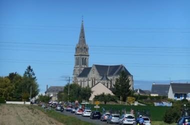 07(ツール・ド・ラヴニール第4??????? ???????? ック地方の教会(photo CyclismeJapon?