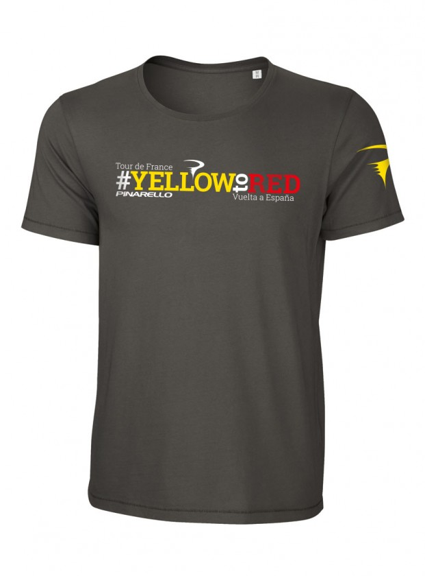 2017Yellow to Red Tシャツ