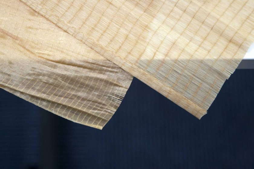 1インチに180本の繊維が編み込まれた最高級ケーシング