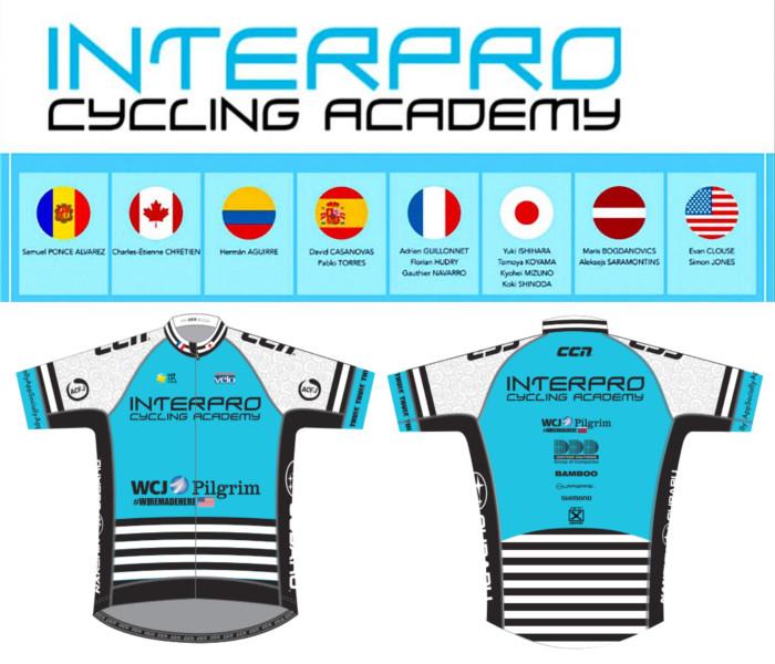 interpro Cycling Academy jersey