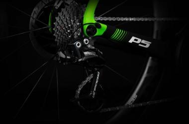 0E0P5EDI1C_P5 DA Di2 Black Green White_TP2A_Ceramic Speed_Oversized Pulley