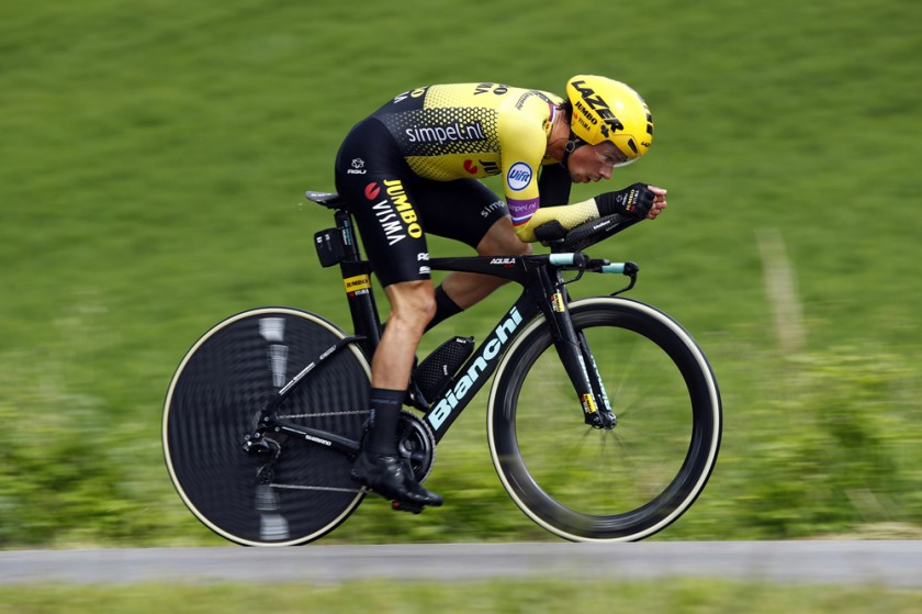 Giro d'Italia 2019 - 102nd Edition - 9th stage Riccione - San Marino 34,8 km - 19/05/2019 - Primoz Roglic (SLO - Team Jumbo - Visma) - photo Luca Bettini/BettiniPhoto©2019