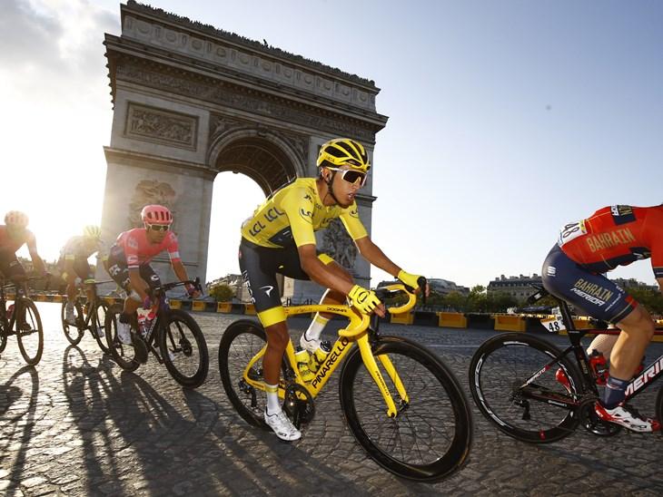 Tour de France 2019 - 106th Edition - 21th stage Rambouillet - Paris 127 km - 28/07/2019 - Egan Bernal (COL - Team INEOS) - photo Luca Bettini/BettiniPhoto©2019
